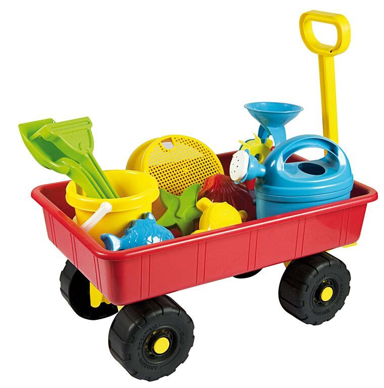 Summertime - Trolley with Sand & Water Play items image