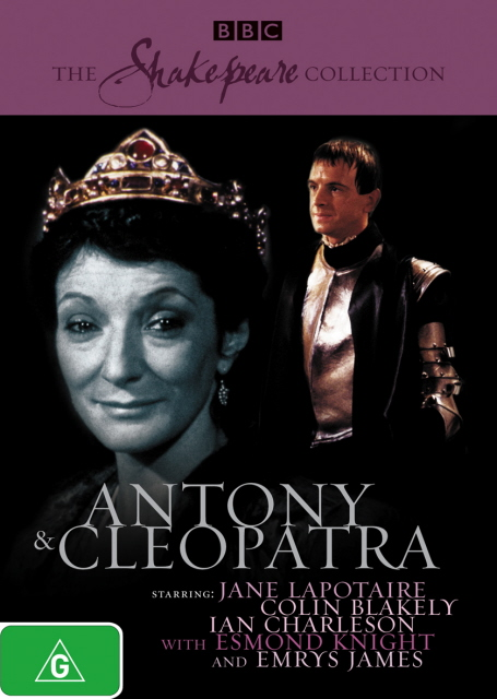 Antony And Cleopatra (1981) (Shakespeare Collection) on DVD image