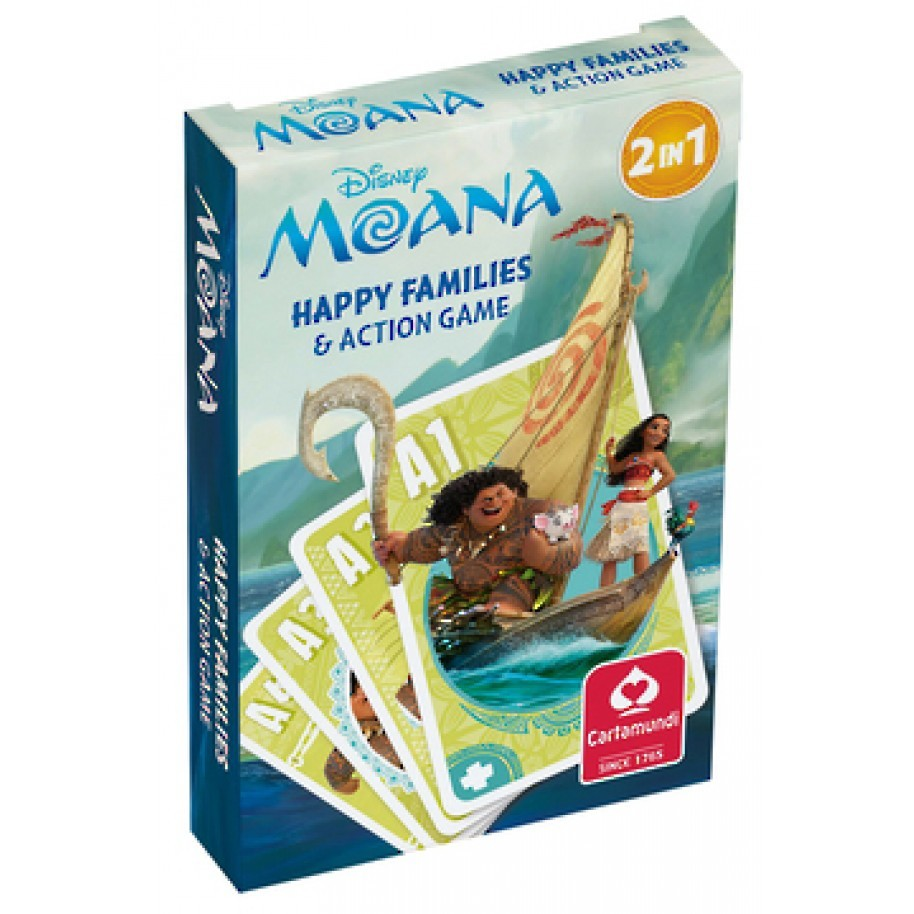 Moana Happy Family Card Game image