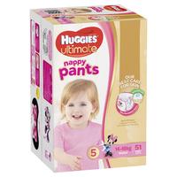 Huggies Ultimate Nappy Pants: Jumbo Pack - Walker Girl 12-17kg (51) image