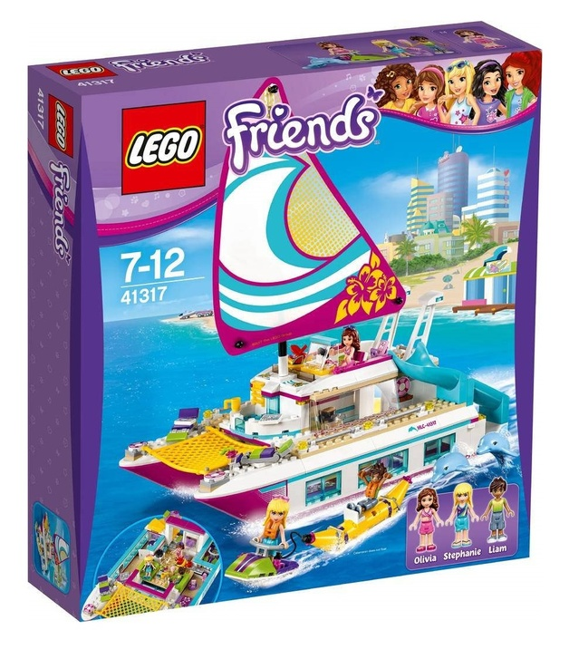 LEGO Friends - Sunshine Catamaran (41317)