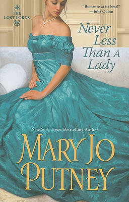Never Less Than a Lady by Mary Jo Putney image