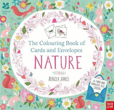 National Trust: The Colouring Book of Cards and Envelopes - Nature by Rebecca Jones