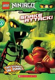 Snake Attack! (Lego Ninjago: Chapter Book) by Tracey West