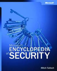 Microsoft Encyclopedia of Security by Mitch Tulloch image