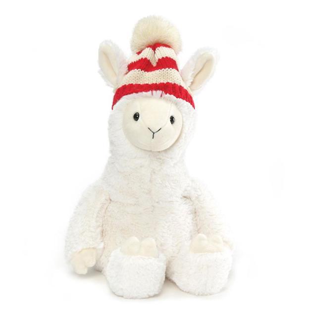 Gund: Lionel Llama - Christmas Plush