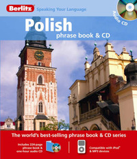 Polish Berlitz Phrase Book and CD image