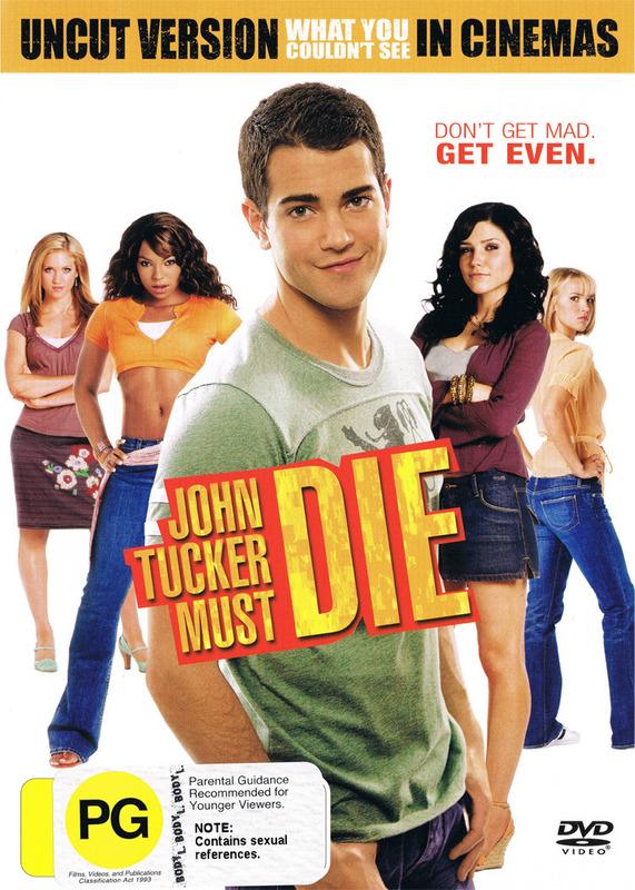 John Tucker Must Die DVD