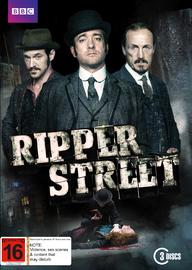 Ripper Street on DVD
