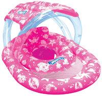 Wahu: Nippas Swim Ring w/Seat & Canopy - Pink
