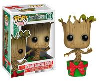 Guardians of the Galaxy Holiday Dancing Groot Pop! Vinyl Bobble Figure