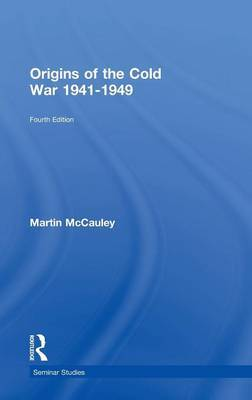 Origins of the Cold War 1941-1949 by Martin McCauley image