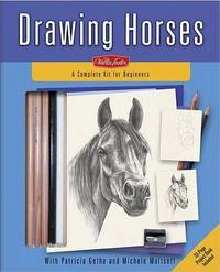 Drawing Horses: A Complete Kit for Beginners image