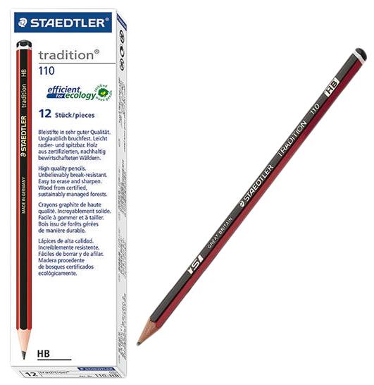 Staedtler 110 HB Tradition Pencils Box12 image