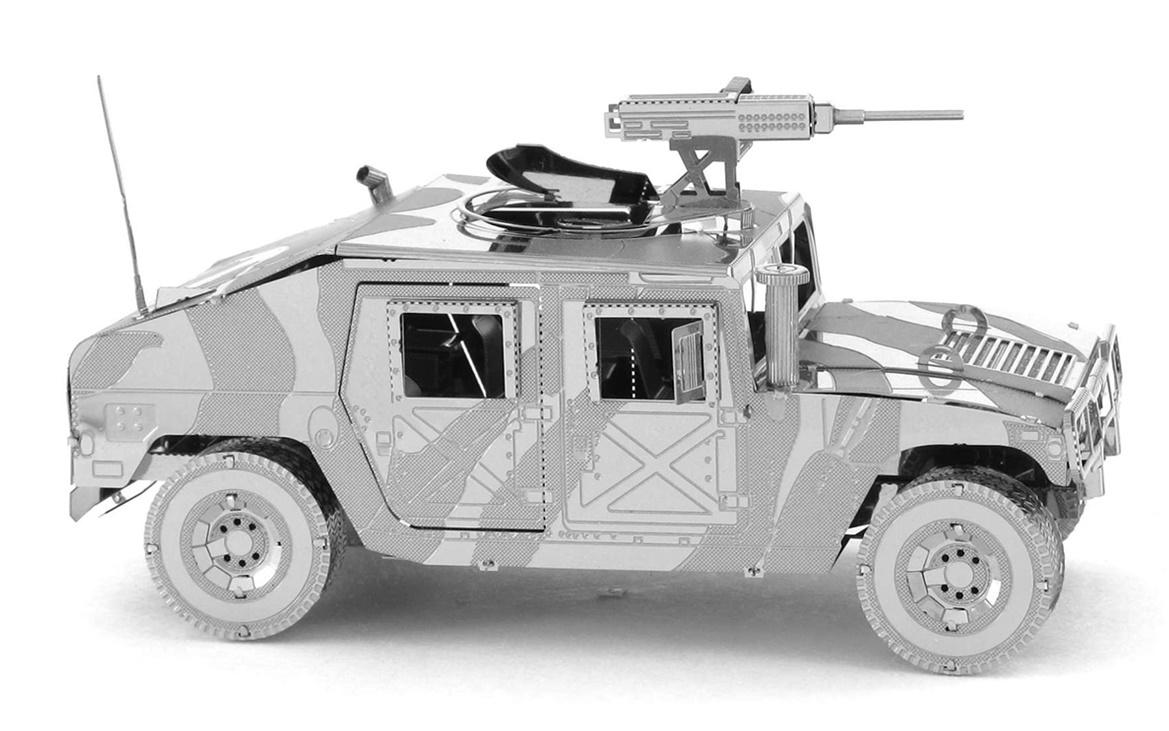 Metal Earth ICONX: Humvee - Model Kit image