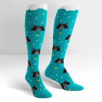 Women's - 50% Chance Of Cats Knee High Socks