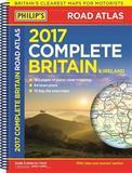 Philip's Complete Road Atlas Britain and Ireland 2017