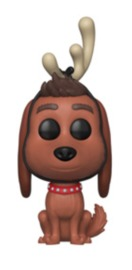 The Grinch (2018) - Max the Dog (with Antlers) Pop! Vinyl Figure image