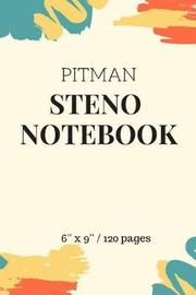 Pitman Steno Notebook by Notebooks For All