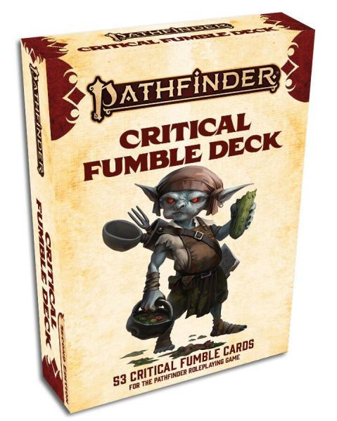 Pathfinder: RPG - Critical Fumble Deck (2nd Edition)
