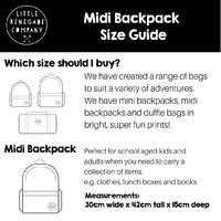 Little Renegade Company: Sparkles Unicorn Midi Backpack image