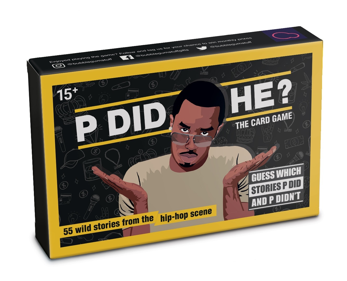 P Did He? - The Card Game image