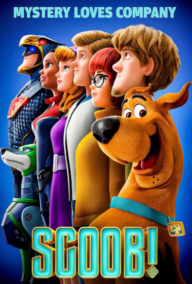 SCOOB! on DVD image
