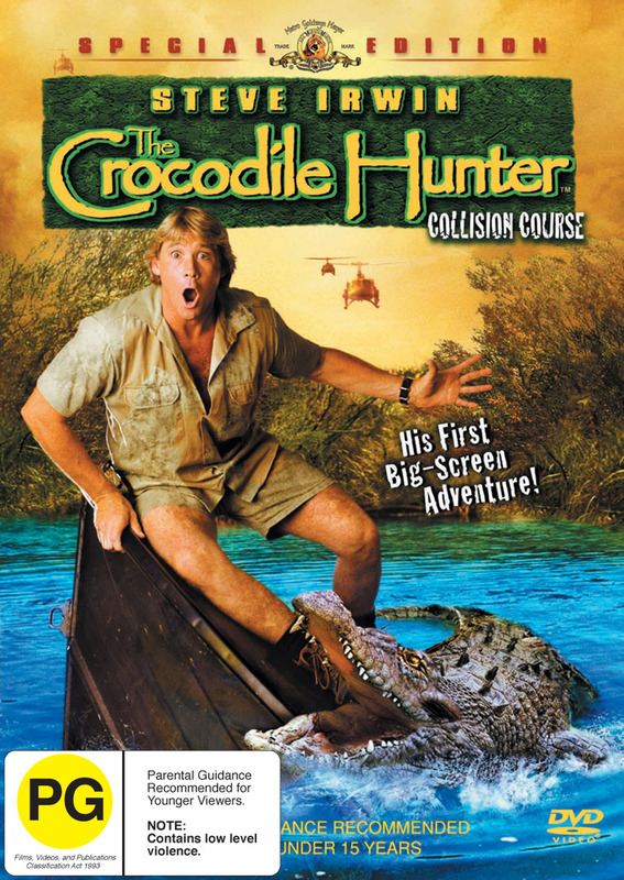 The Crocodile Hunter - Collision Course (Special Edition) on DVD