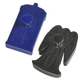 Doctor Who TARDIS & Weeping Angel Cookie Cutters