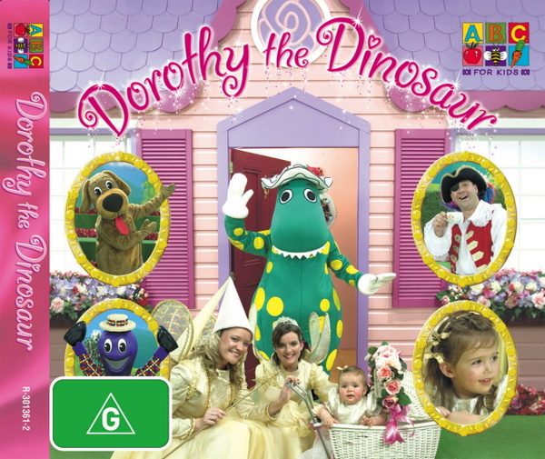 Wiggles, The - Dorothy the Dinosaur (CD size case) on DVD image