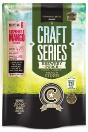 Mangrove Jack's: Craft Series - Raspberry & Mango Cider Pouch (2.4kg)