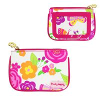 Pink Poppy: Secret Garden Coin Purse - Hot Pink