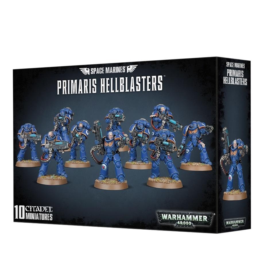 Warhammer 40,000 : Space Marines Primaris Hellblasters image