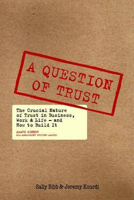 A Question of Trust by Sally Bibb