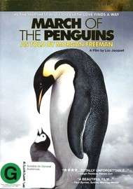 March Of The Penguins on DVD image