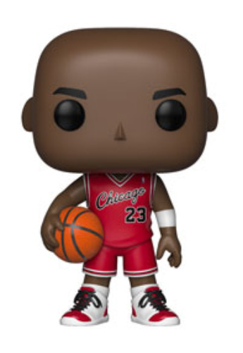 NBA: Bulls - Michael Jordan (Rookie Uniform) Pop! Vinyl Figure