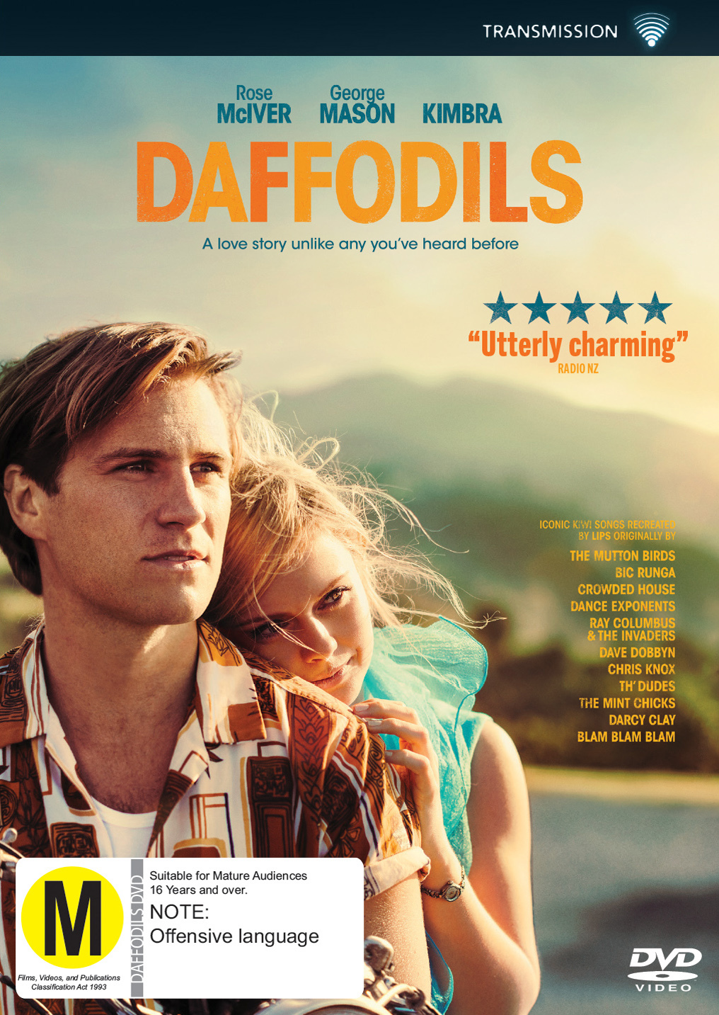 Daffodils on DVD image