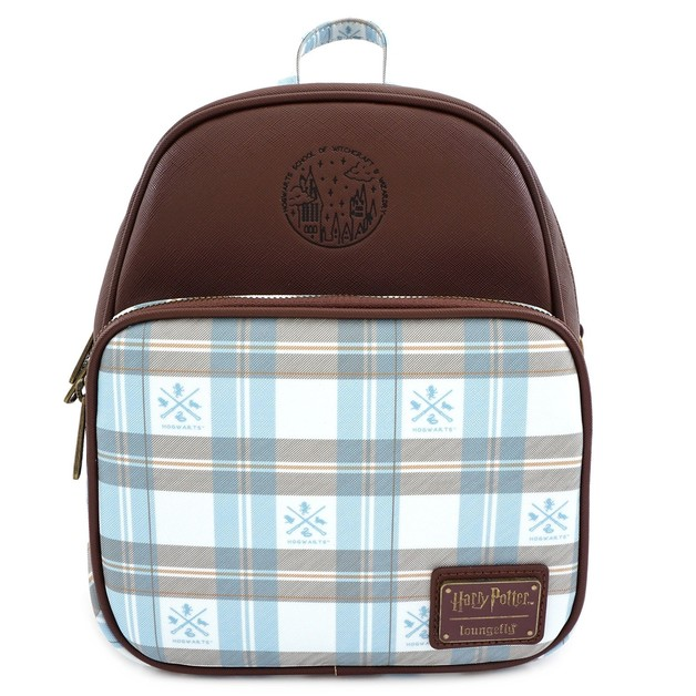 Loungefly: Harry Potter - Blue Check Mini Backpack