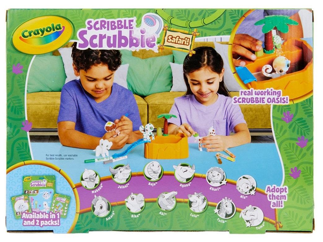 Crayola Scribble Scrubbies Safari Play Set image