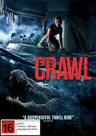 Crawl on DVD image