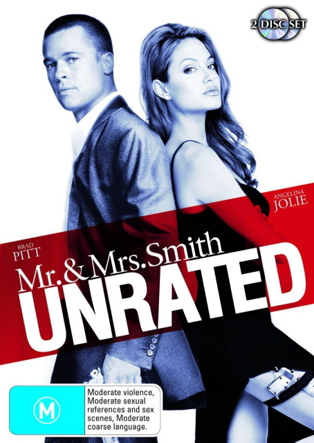Mr And Mrs Smith - Unrated on DVD