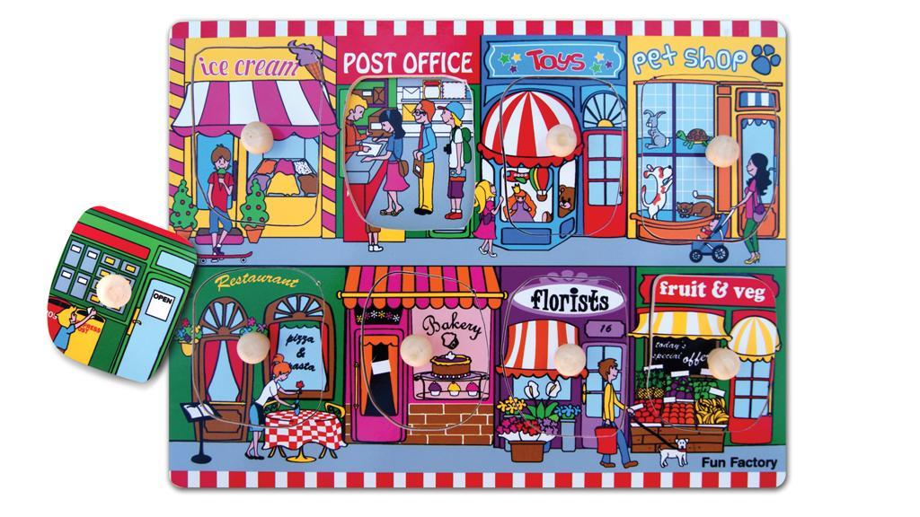 Fun Factory - Puzzle with Knobs – Lets Go Shopping image