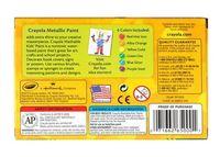 Crayola: Washable Metallic Paint Pack 6 Colours image