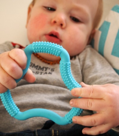 Dr Brown's Flexees A Shaped Teether (Red)