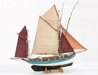 Marie Jeanne Wooden Ship Model Kit