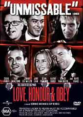Love Honour and Obey on DVD
