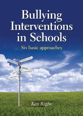 Bullying Interventions in Schools by Ken Rigby image