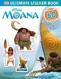 Disney Moana: Ultimate Sticker Collection by DK