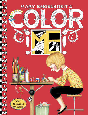 Mary Engelbreit's Color ME Coloring Book by Mary Engelbreit