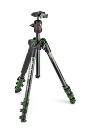 Manfrotto BeFree ALU Green W/Ball Head & Bag
